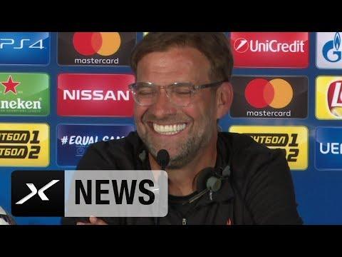 Wegen tiefer Stimme: Jürgen Klopp veräppelt Reporter | Real Madrid - FC Liverpool | Champions League