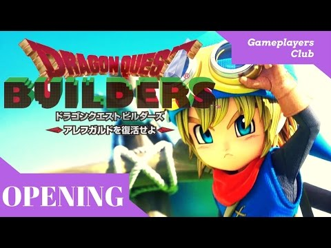 Dragon Quest Builders Opening Cinematic Video