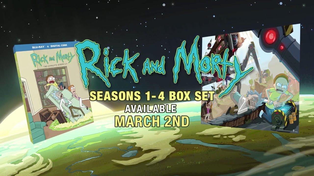 Download [adult swim] - Rick and Morty Seasons 1-4 Box Set Promo