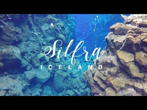 Snorkeling between 2 continents at SILFRA, ICELAND (travel vlog)