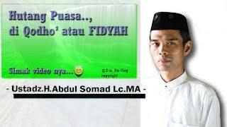 Bayar Hutang Puasa - Ust Abdul Somad Lc MA -  1 April 2017 2017 Video
