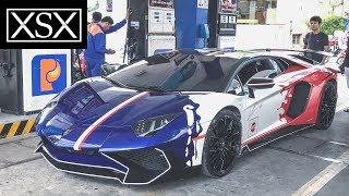 Minh Nhựa Đổ Xăng Cho Lamborghini Aventador SV 35 Tỷ Hết Bao Nhiêu Tiền??? | XSX