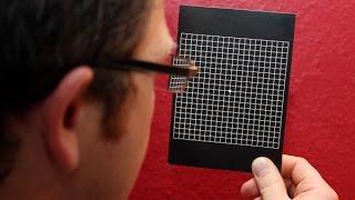 Тест (сетка) Амслера для проверки зрения(Врач офтальмолог