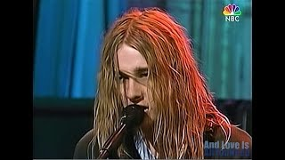 Silverchair - Freak [Live on Late Night with Conan O'Brien] 1997