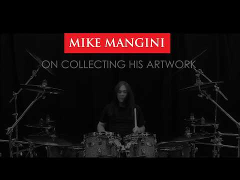 Mike Mangini on Collecting His Artwork (OFFICIAL)