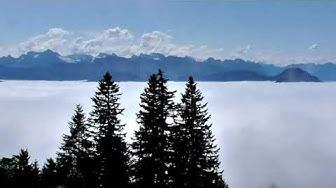 Schweiz 2019 - Tag 10: Höhenwanderung auf der Rigi über den Wolken