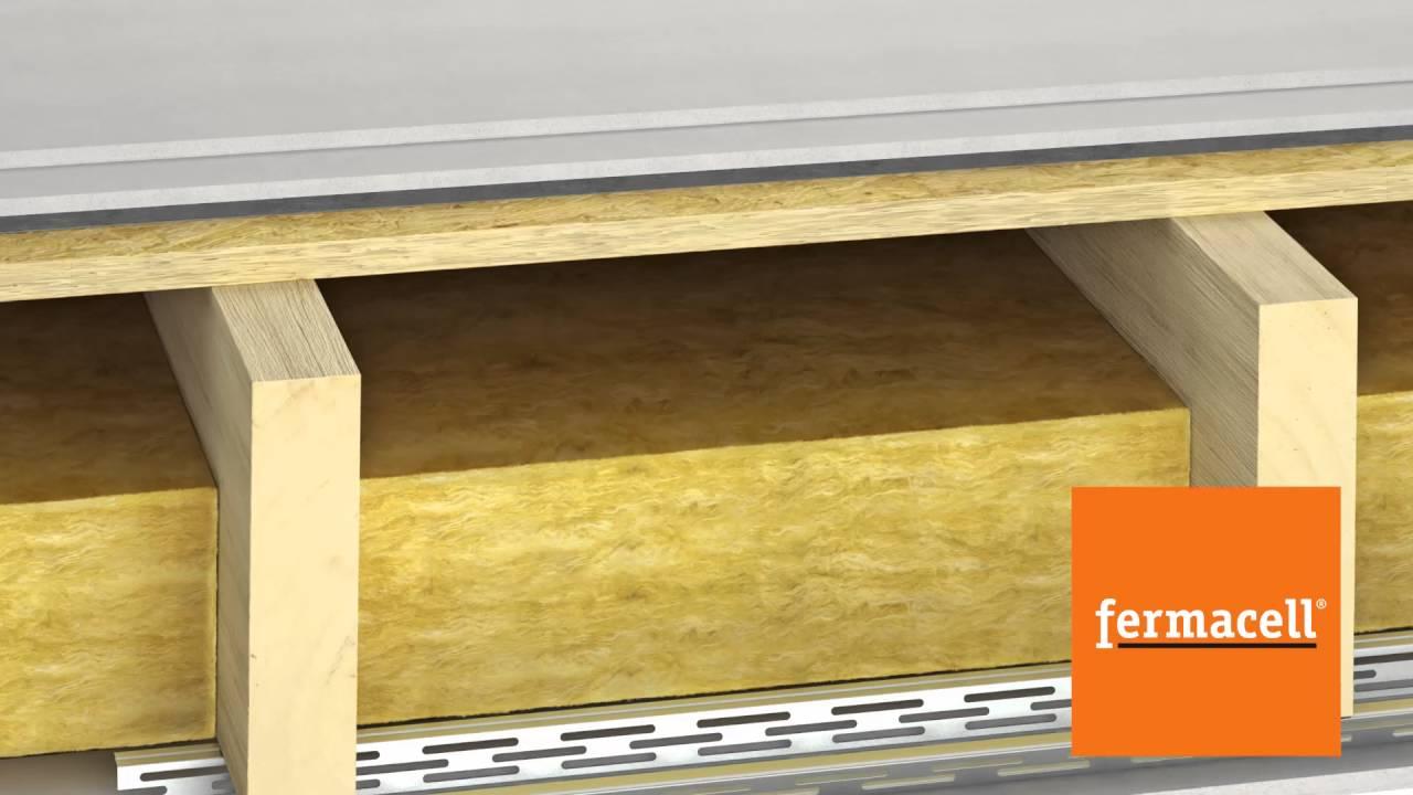 Contactgeluidsisolatie Houten Vloeren : Contactgeluid? fermacell: basis voor elke vloer youtube