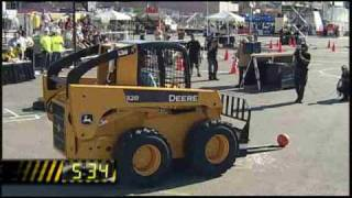 Skid Steer Smackdown Prove It Tour! Las Vegas World of Concrete - Semifinals