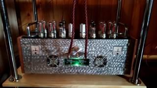 Ламповый усилитель РР на 6н23п+6н6п+6с19п (спарка)