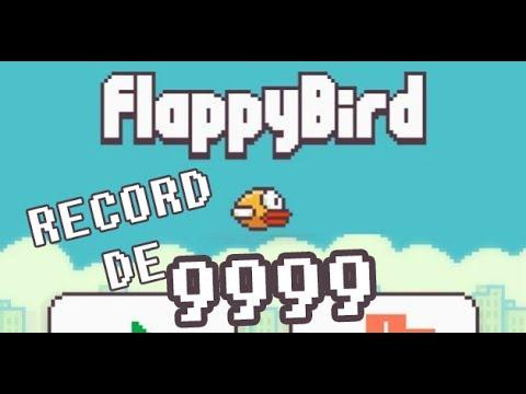Truco: Como obtener un record 9999 en Flappy Bird