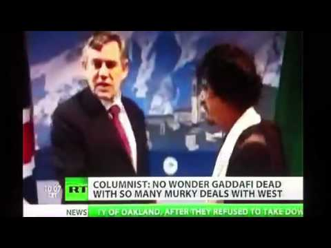 """Cheers Over Sadistic Lynching Of """"Hero Of Africa"""" Gaddafi Proves Evil Nature Of Western Media & NATO"""