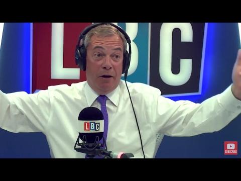 The Nigel Farage Show: Snap Election. Live LBC - 18th April 2017