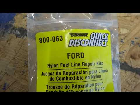 2000 Explorer Quick Disconnect Fuel Line Repair 4 0 SOHC