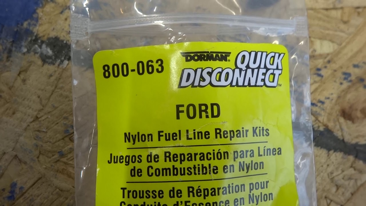 2000 explorer quick disconnect fuel line repair 4 0 sohc [ 1280 x 720 Pixel ]