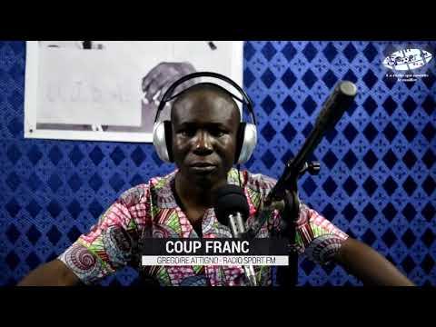 SPORTFM TV - COUP FRANC DU 08 NOVEMBRE 2018 PRESENTE PAR GREGOIRE ATTIGNO