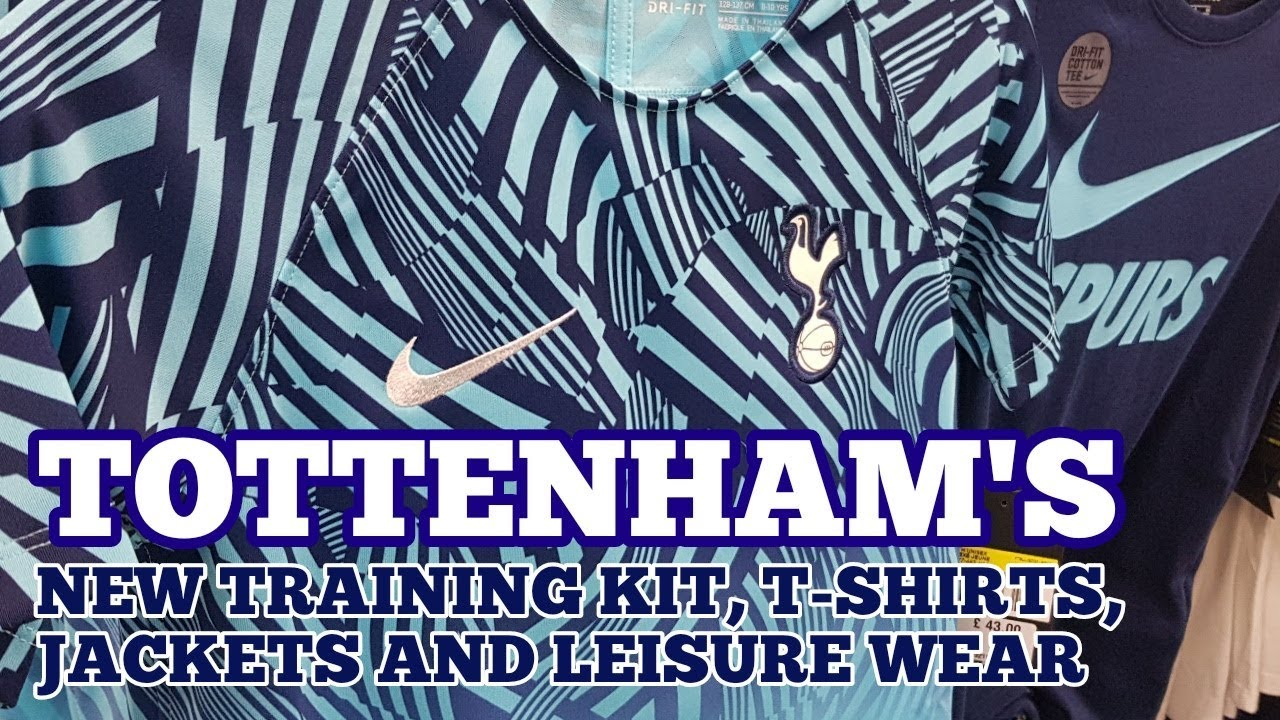 Tottenham S New 2018 19 Training Kit T Shirts Jackets And Leisure Wear Out Now In All Spurs Shops Youtube