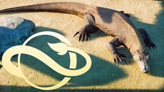 KOMODO DRAGON! Deluxe Edition Animals Revealed | Planet Zoo Update
