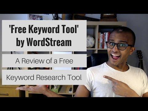 'Free Keyword Tool' by WordStream (Review)   An Alternative Keyword Research Tool