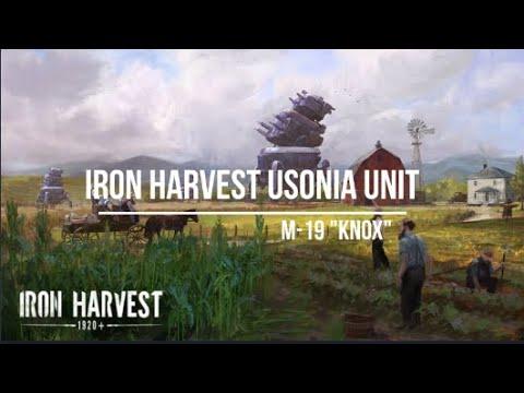 Iron Harvest Usonia Heavy Mech ''M 19 Knox'' |