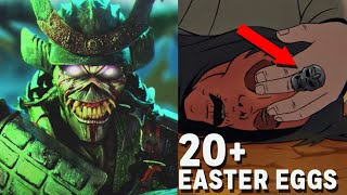Iron Maiden: Every Easter Egg in 'The Writing on the Wall'