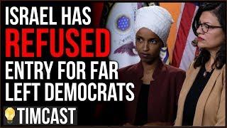 Tim Pool Ilhan Omar, Rashida Tlaib Barred From Entering Israel Following Pressure From Trump