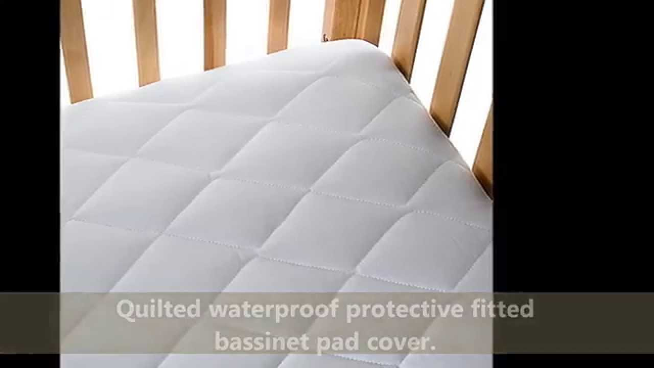 Bassinet Matress Protector Bassinet Mattress Cover Review Does American Baby Bassinet Mattress Work Youtube