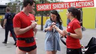 "People React To 2"" SHORT Running Shorts"