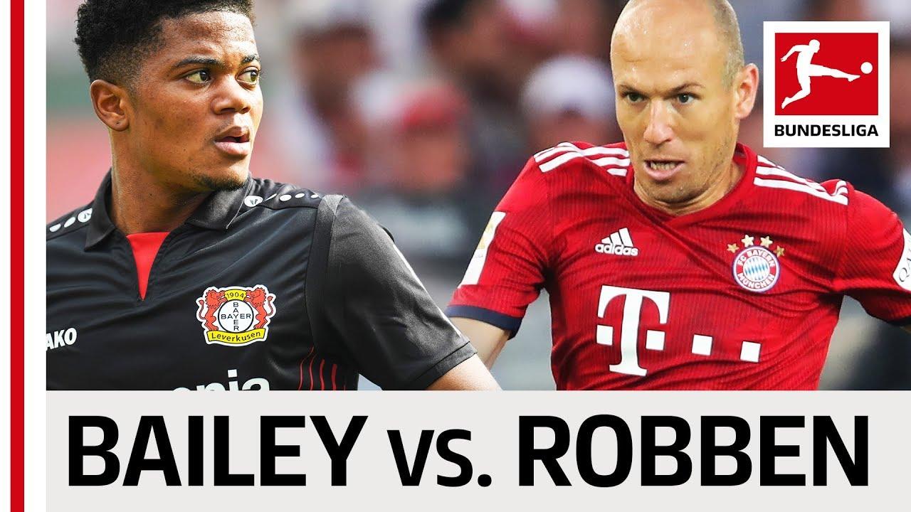 5b93ecf3f Leon Bailey vs. Arjen Robben - Wing Wizards Go Head-to-Head - YouTube