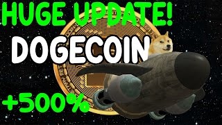 WHY IS DOGECOIN DROPPING? DOGECOIN HUGE UPDATE TODAY! 1$ SOON!
