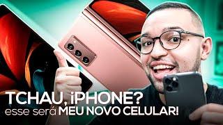 TCHAU, iPHONE? Esse será MEU NOVO CELULAR! (Galaxy Z Fold 2)