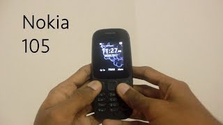 Nokia 105 (2017,Black) - The Comeback