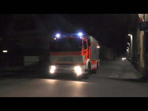 [H Zug 2Y] RW 2-Kran, TLF 24/50, ELW, GW-L Feuerwehr Sprendlingen + RTW JUH OV Rodgau