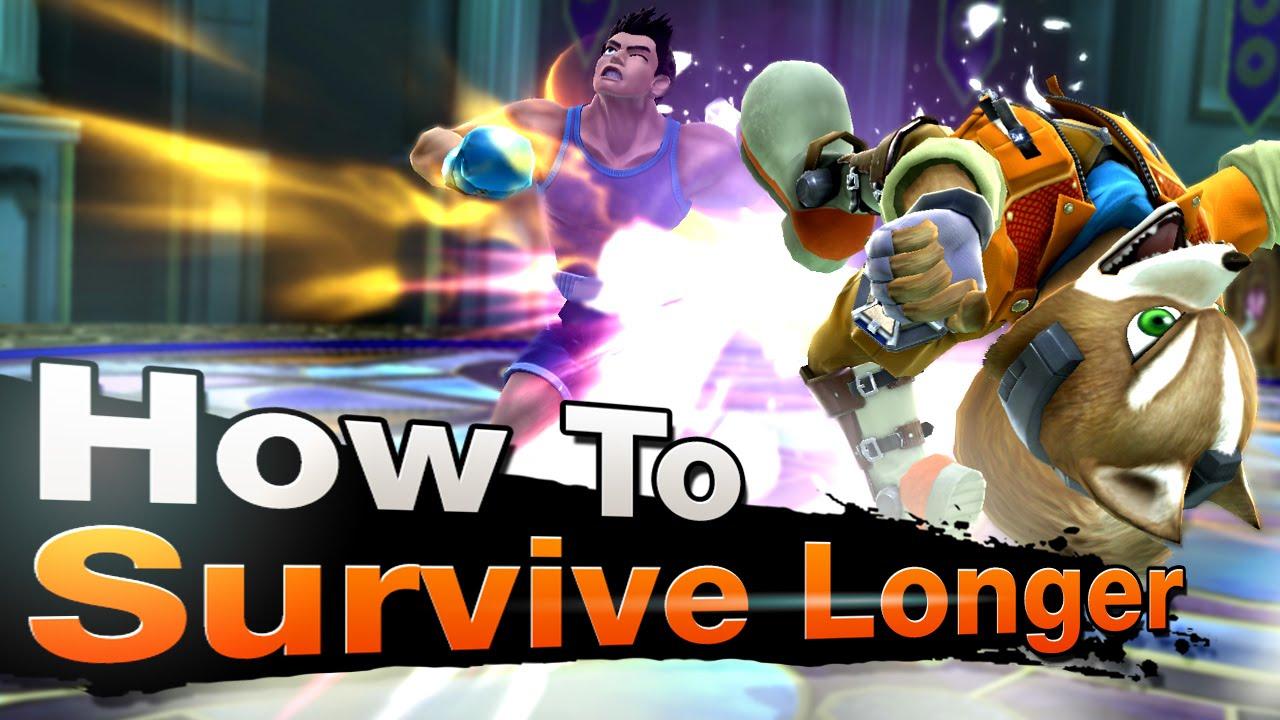 Smash 4 Wii U - How To Survive Longer