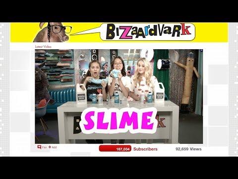 SLIME DIY   Bizaardvark   Disney Channel