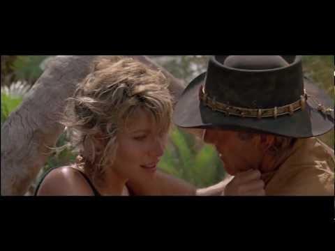 Crocodile Dundee - A crocodile attacks Sue