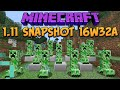 Minecraft 1.11 Snapshot 16w32a Item Elevators Fixed! More Spawn Eggs!