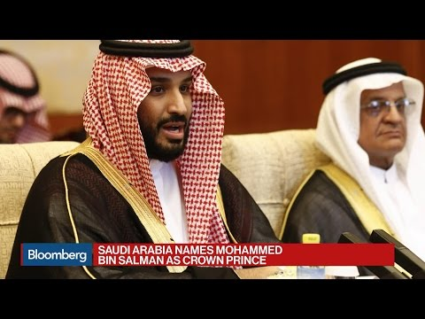 Saudi Arabia Names Mohammed Bin Salman as Crown Prince
