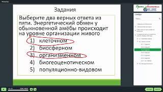 Уровень организации живой материи - Видеоуроки биологии на egebio.ru