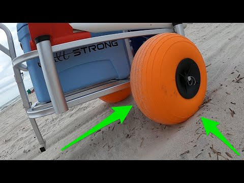 Beach Fishing Cart Tires Review: Pros, Cons & How To Install