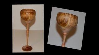 Wood Turning Goblet
