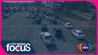 War against indiscipline: Over 40 cars arrested for using illegal U-turn on Tema motorway