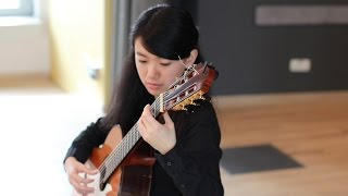 Liying Zhu plays Una limosna por el amor de Dios by Agustìn Barrios Mangorè on a 2013 A. Müller