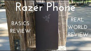 Razer Phone Basics Video (Real World Review)