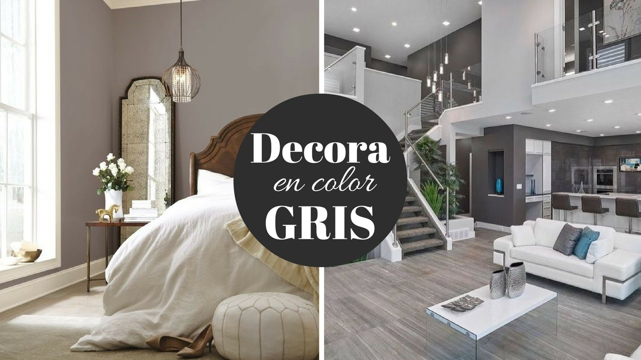Como decorar con el color gris pabla en casa tips e for Casas pintadas en tonos grises