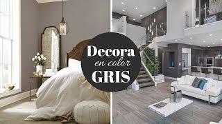 casa gris con casas blanco grises como decorar el colores salas azul decoraciones que cortinas apartamentos unas
