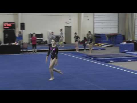 20170121  Emily Joyce Level 9  Rolling Thunder meet  Lake Ozark, MO  Floor