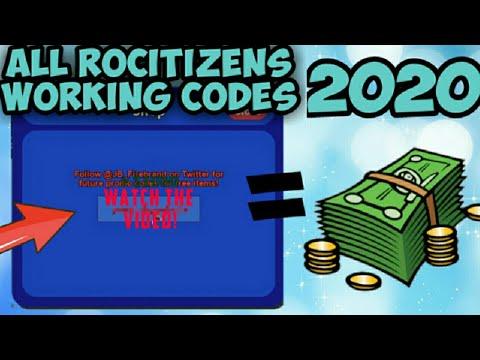Roblox Rocitizens Codes 2019 Destaber All 2020 Working Rocitizens Codes Rocitizens Roblox Youtube