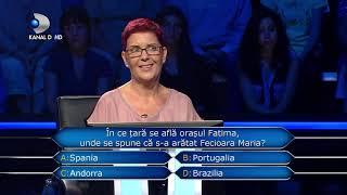 Vrei sa fii milionar? (12.11.) - In ce tara se afla orasul Fatima si ce a patit concurenta acolo?