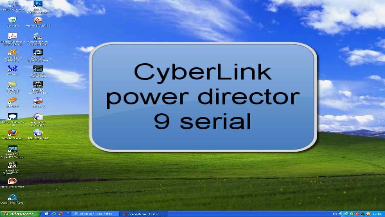 cyberlink powerdirector 9.0 activation key