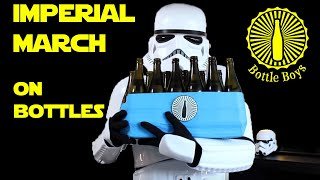 Four Storm Troopers Playing Imperial March on Bottles  Star Wars (Bottle Boys)